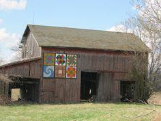 Six Squares Barn Quilt, Ohio