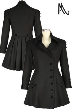 Wool Coat -- Chic Star design by Amber Middaugh and Amber Miller