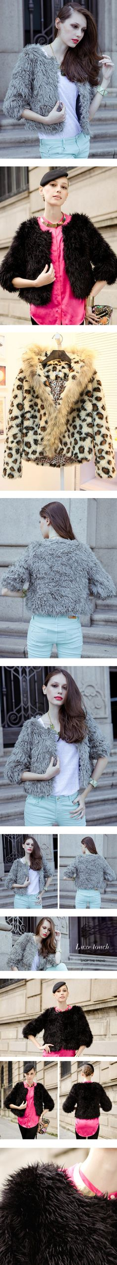 """""""Get Your Coat On"""" by udobuy ❤ liked on Polyvore"""