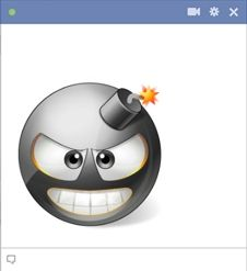 Bombe smiley pour Facebook chat!
