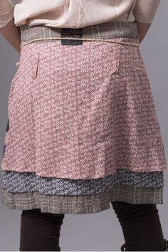 Patchwork skirt idea for up cycling