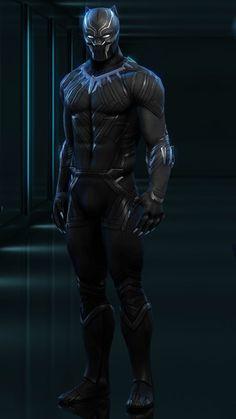 Black Panther Images, Black Panther Art, Black Panther Marvel, Avengers Art, Marvel Art, Marvel Heroes, Black Panther Chadwick Boseman, Black Comics, Superhero Design