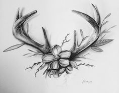 A Comprehensive Overview on Home Decoration - Modern Future Tattoos, Love Tattoos, Beautiful Tattoos, Body Art Tattoos, New Tattoos, Tattoos For Women, Deer Antler Tattoos, Deer Tattoo, I Tattoo