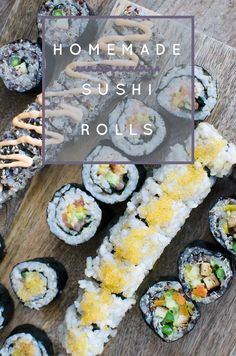 An awesome tutorial for making Homemade Vegetarian Sushi Rolls. These are awesome because they are vegan and made with quinoa!