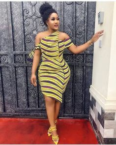 The best collection of 2018 most stylish ankara designs you've been looking for. We have them complete stylish ankara designs 2018 here African Fashion Ankara, Latest African Fashion Dresses, African Inspired Fashion, African Print Fashion, African Style, Africa Fashion, Short African Dresses, Ankara Short Gown Styles, African Print Dresses