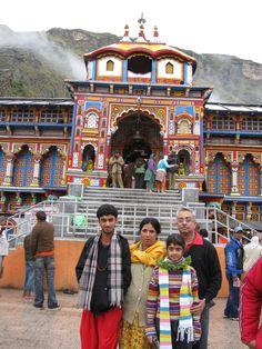 Badri Nath Temple of Lord Vishnu in Himalaya in North of India