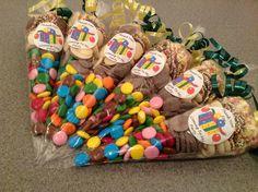 Chocoholics delight sweet cones