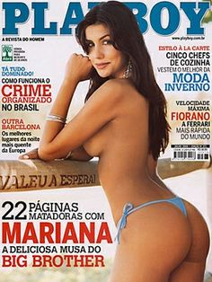 Playboy Brazil July 2006 Cover featured by Mariana Felício
