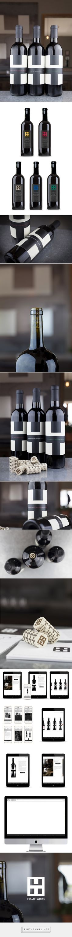 TH Estate Wines - Packaging of the World - Creative Package Design Gallery - http://www.packagingoftheworld.com/2016/01/th-estate-wines.html
