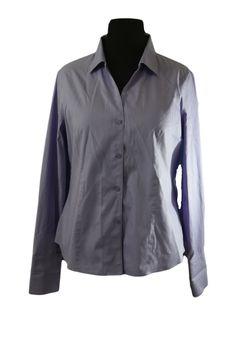 Jones New York Women's Purple Dress Shirt