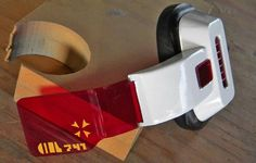 Mike Iverson, an amateur prop builder, hand built this Dragon Ball Z scouter.