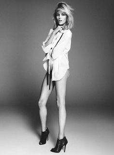 Love!!!  Anja Rubik Works It in Giuseppe Zanotti Campaign for Her New Capsule Collection | Fashion Gone Rogue: The Latest in Editorials and Campaigns