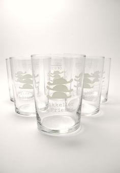 M&F Pint Glass Low