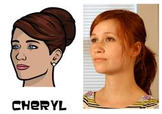 See The Real-Life 'Archer' Character Models, Including Cute-As-An-Ocelot Cheryl Archer Characters, Disney Characters, Novel Movies, Real Model, Life Inspiration, Cheryl, Pop Culture, Real Life, Singer