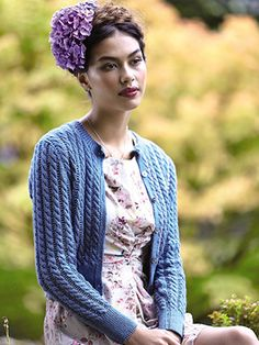 Violette from Rowan Summerlite 4ply (ZB169) is a collection of delicate feminine knits designs designed by Martin Storey using NEW YARN! Summerlite 4ply. Using Cables, texture and lace this is a twelve piece collection sure to have something for everyone.    English Yarns