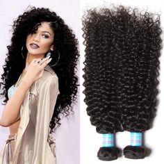Brazilian Curly Hair Weaves 1/3 bundles 100% Virgin Human Hair Extension Weaving #Dsoar #CurlyHairLocks