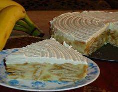 Jednostavni deserti: Brza torta sa bananama brzo će se i pojesti! Torte Recepti, Kolaci I Torte, Pie Cake, No Bake Cake, Delicious Desserts, Yummy Food, Quick Cake, Bulgarian Recipes, Cake Business