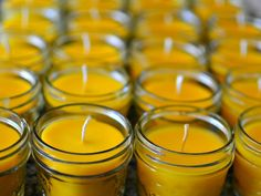 DIY: Making Beeswax Candles