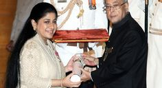 """""""Mallika Srinivasan, chairman and CEO of the TAFE Group, has been conferred the Padma Shri by the government of India for her contribution to trade and industry. She received the prestigious award from the president of India Pranab Mukherjee at a function held at the Rashtrapati Bhavan on April 26.""""  - Via Autocar Professional magazine"""