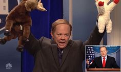 Sean Spicer hits back at 'mean' SNL after  impersonation   Daily Mail Online