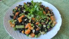 Pratos Coloridos são mais saudáveis! Experimente o Arroz Integral Negro.