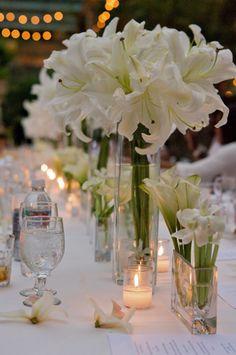 All white...love the Casablanca lillies | David Tutera