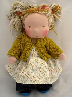 I can't wait to help pick out Amelia's Waldorf doll details!!!