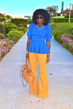 """Romwe Blouses, Urban Outfitters Jeans   """"Spring Peplum"""" by StylePantry - Chictopia"""