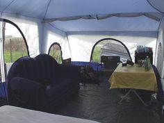 Deluxe 4 Room Cabin Tent 24u0027x10u0027