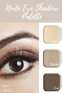 Do you love dramatic colors or more subtle makeup? I'm a fan of natural soft makeup. I love this neutral nude eyeshadow palette from Maskcara beauty! You can purchase the colors seperately for just $14 per shade! If you buy 4 you get a free magnetic compact! Colors shown- Sabrina, Stardust, and Trust. Oh trust is great for filling in brows too!