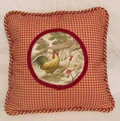 French Country Romantic Cottage Pillow by TsEclecticTreasures, $39.99