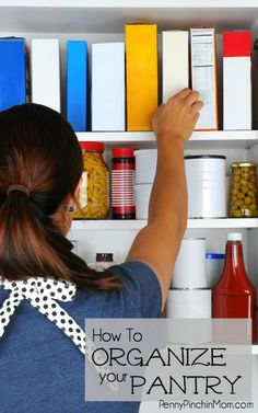 If your pantry is in disorder, it may mean you are throwing away money in spoiled or expired food! Find out some simple tips on How to Organize Your Pantry!