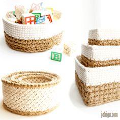 JaKiGu Crochet Baskets Pattern