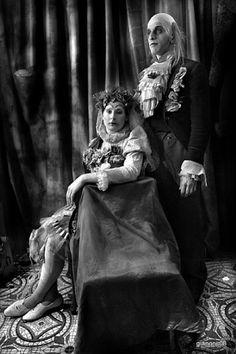 Gianoni, clowns, antique