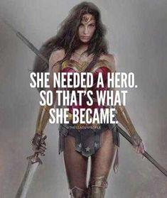 She needed a hero and 50 other great quotes for women. I love that the first of these girl power quotes features Wonder Woman. Fitting for a collection of inspirational quotes from women. Successful Life Quotes, Successful Women, Success Quotes, Wonder Woman Quotes, Super Woman Quotes, Woman Power Quotes, Strong Women Quotes Strength, Plus Belle Citation, Motivational Quotes