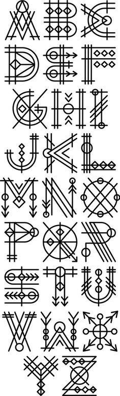 90 wunderschöne Typografie-Alphabet-Designs (Teil 2) www.designlisticl ...  #alphabet #designlisticl #designs #typografie #wunderschone
