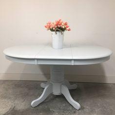 Painted Furniture, Furniture Design, Paint Companies, Pedestal Dining Table, Vintage Denim, Modern Farmhouse, Relax, Color, Inspiration