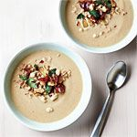 Roasted Cauliflower Soup + 12 creamy soup recipes. I <3 Autumn!