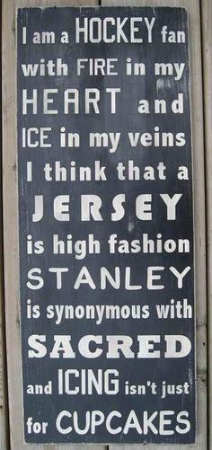 Hockey Fans! #hockey #love #inspiration #lifestyle