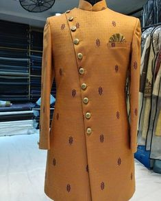 New designs coming in everyday! Get your best look with Sherwani Groom Studio, Chandni Chowk right now! Wedding Outfits For Groom, Indian Wedding Outfits, Wedding Couples, Boho Wedding, Farm Wedding, Wedding Reception, Wedding Dress, Pakistani Bridal Dresses, Punjabi Wedding