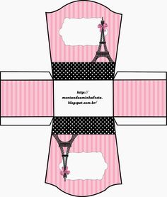 Paris: Free Printable Boxes.