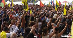 30 000 personnes se sont rassemblées au Festival Kurde International de Cologne. Compte rendu en images...