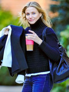 "Star Tracks: Monday, November 24, 2014 | STILL BALLIN' | ""Back Home Baller"" SNL rapper Cameron Diaz keeps her cool around N.Y.C. on Saturday."