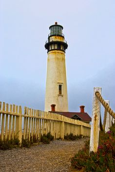 Lighthouse Pigeon Point, California. One of my favorite afternoon drives!!!
