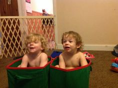 Rachel Denese Hadden                 & Alex Joesph Hadden In little boxes! This is so adorable and cute!