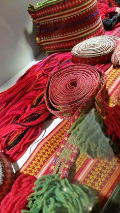 Eldre brikkevevde belter og grindvevde forklebånd til beltestakk, Bø museum Museum, Band, Weaving, Cards, Sash, Bands, Orchestra, Museums