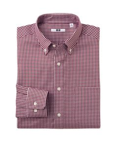 Women's, Men's and Kids' Clothing and Accessories Gingham Check, Work Shirts, Uniqlo, Dapper, Work Wear, Kids Outfits, Long Sleeve Shirts, Shirt Dress, Easy