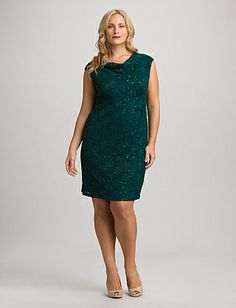 Plus Size Shimmer Lace Dress Plus Size Womens Clothing, Plus Size Fashion, Clothes For Women, Mom Dress, Lace Dress, Mother Of The Bride Dresses Long, Plus Size Looks, Discount Clothing, Lovely Dresses
