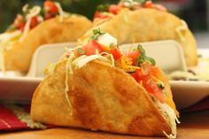 Easy crispy shell tacos from tasty kitchen...perfect cinco de mayo meal!