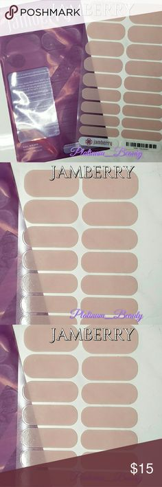 """💣Jamberry Nail Wraps 💅 Jamberry Nail Wraps  Nail wraps can only be used once.  Hence NWT on all sheets. 1 Full Sheet  ⛔️No Trades! No Holds! No Lowballing!⛔️ ⛔️No Offers on """"Final Priced"""" Items⛔️  ❣️Reasonable Offers Welcomed❣️ ❣I Only Sell ️Quality Items❣️ ❣️Used items will be gently used/like new❣️              ️⛔️No used Makeup⛔️ Jamberry  Other"""